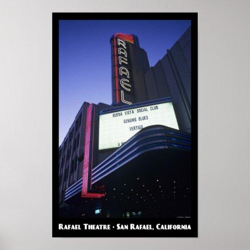 Poster del teatro 11X17 de Rafael