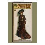 Poster del teatro de Dorothy Vernon en tarjetas