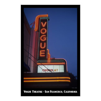 Poster del teatro de Vogue