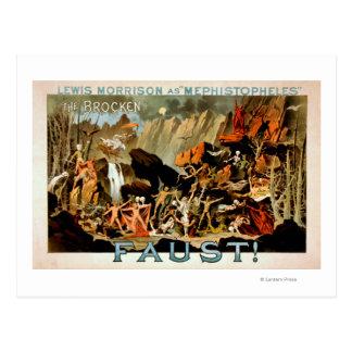 Poster del teatro musical de Fausto Postales