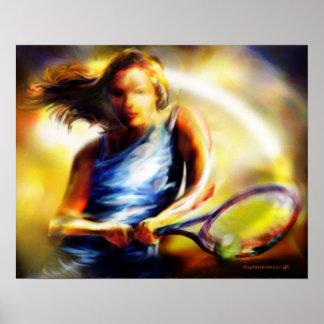 Poster del tenis