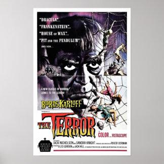 "Poster ""del terror"""