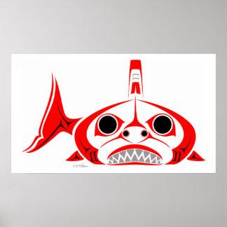 Poster del tiburón