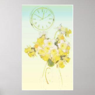 Poster del tiempo del narciso