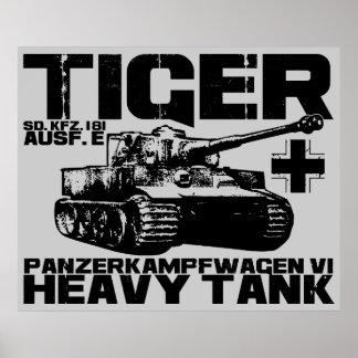 Poster del tigre I