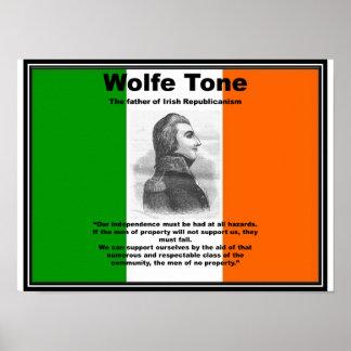 Poster del tono de Wolfe