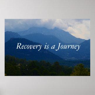 Poster del tratamiento de la recuperación