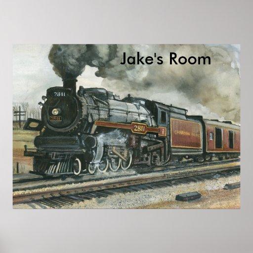 Poster del tren
