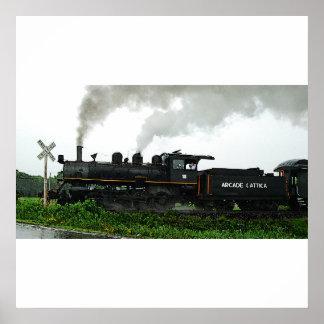 Poster del tren de excursión