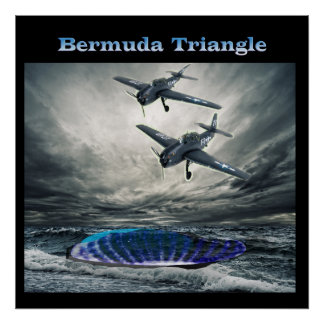 poster del triángulo de Bermudas