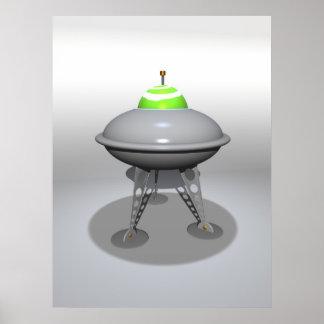 Poster del UFO del juguete