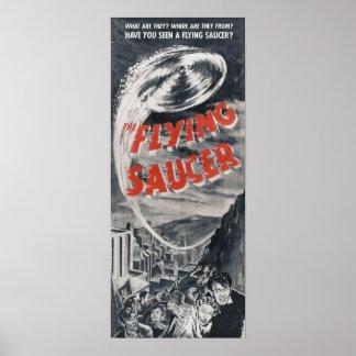 Poster del UFO del vintage - tiene usted visto un