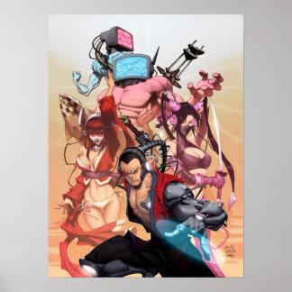 Poster del universo de SHWANN Póster