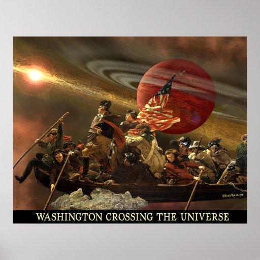 Poster del universo de Washington X-ing