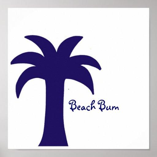 poster del vago de la playa