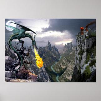 Poster del valle del dragón