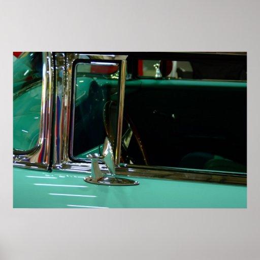 poster del vehículo de los años 50