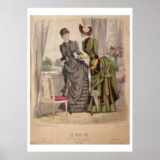 Poster del vestido del movimiento del Victorian