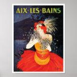 Poster del viaje de Aix-les-Bains