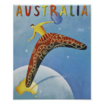 Poster del viaje de Australia