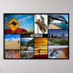 poster del viaje de Australia Póster