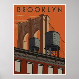 Poster del viaje de Brooklyn