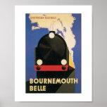 Poster del viaje de Inglaterra del ferrocarril de