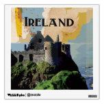 Poster del viaje de Irlanda del vintage