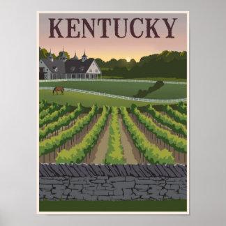 Poster del viaje de Kentucky