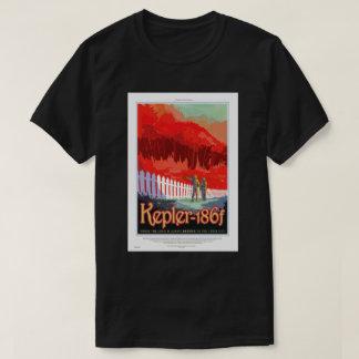 Poster del viaje de la NASA - Kepler 186f Camisas
