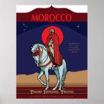 Poster del viaje de Marruecos