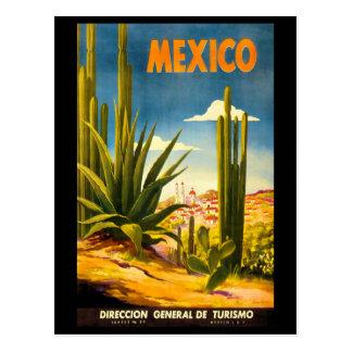 Poster del viaje de México Tarjetas Postales