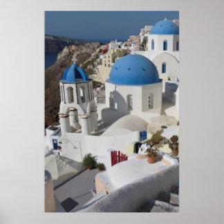 Poster del viaje de Mykonos Grecia Póster