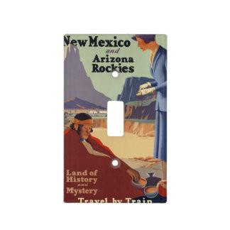 Poster del viaje de New México del vintage