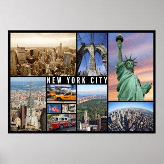 poster del viaje de New York City