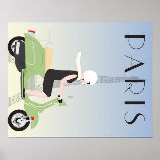 Poster del viaje de París