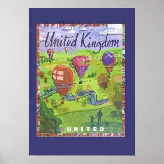 Poster del viaje de Reino Unido