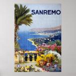 Poster del viaje de Sanremo Italia