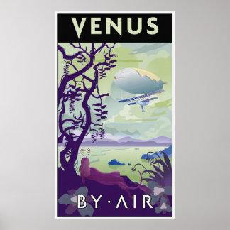 Poster del viaje de Venus
