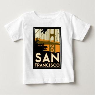 Poster del viaje del art déco de San Francisco Polera