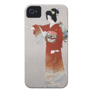 Poster del viaje del japonés del vintage de Japón iPhone 4 Cobertura