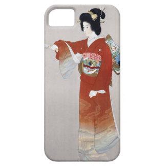 Poster del viaje del japonés del vintage de Japón iPhone 5 Carcasas