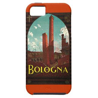 Poster del viaje del vintage, Bolonia, Italia iPhone 5 Fundas