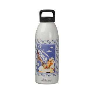 Poster del viaje del vintage, Cortina d'Ampezzo Botellas De Beber