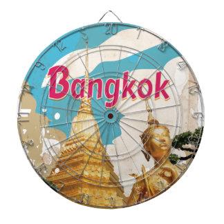 Poster del viaje del vintage de Bangkok