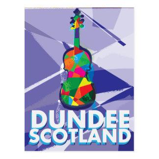 Poster del viaje del vintage de Dundee Postales