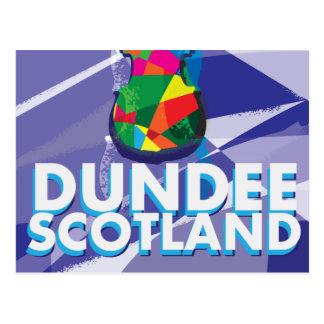 Poster del viaje del vintage de Dundee Tarjetas Postales