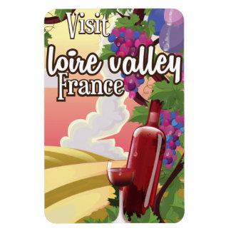 Poster del viaje del vintage de Francia de la Imanes Rectangulares
