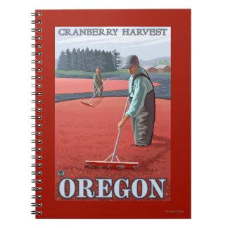 Poster del viaje del vintage de la cosecha de los cuaderno