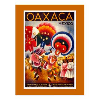 """Poster del viaje del vintage de """"México"""" Postales"""